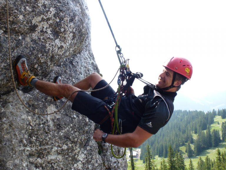 Abseilen – alpines Flair am Taubenstein
