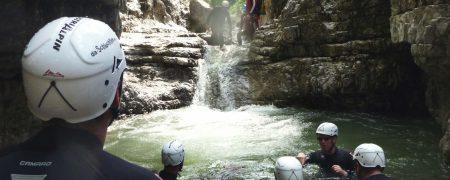 Canyoning - ein nasser Spaß
