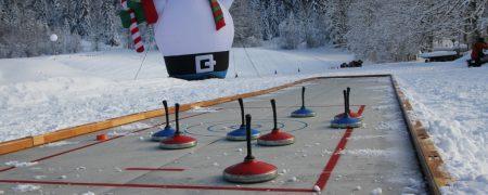 Eisstockturnier - ein Riesenspaß auf Eis
