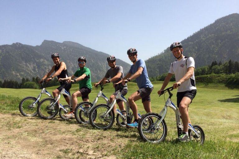 Skyver-Tour mit Spaß und Speed bergab
